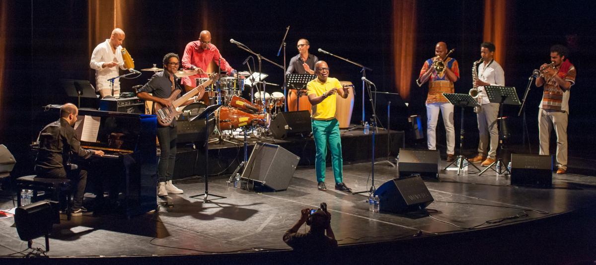 "Mansfarroll & Campana project"" Dizzy El Afrocubano""  Concert au 3 Pierrots  Saint Cloud"