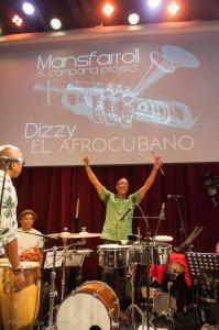 Concert  à l'Ermitage.Dizzy El Afrocubano
